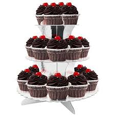 How To Display Cupcakes Without A Stand Inspiration Amazon 32Tier Cardboard Party Cupcake Display StandDessert