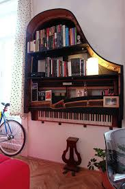 how to repurpose old furniture. Old Piano Into Bookshelf How To Repurpose Furniture E