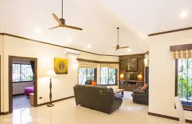 ceiling fans with lights for living room. The Lighting And Colour Scheme Selected By Interior Designer Creates A Fresh Modern Look That Makes Feature Almost Furniture-like Of Wooden MrKen Ceiling Fans With Lights For Living Room