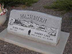 Harry Gale Washburn (1924-1995) - Find A Grave Memorial