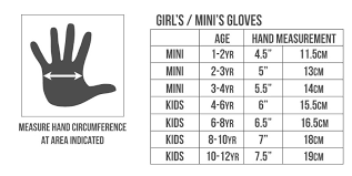 Rojo Girls Maximise Kids Snow Glove All Colours 2017