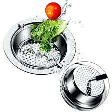 sink colanders new stainless steel sink filter hair colanders strainers filter round kitchen drain bathroom sink sink colanders