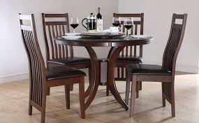54 inch round dining table wooden