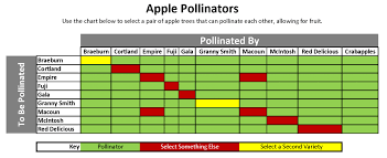 Apple Use Chart Selecting Apple Trees Garden Barn