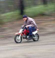 My Mate Res On A Honda Mini Bike That Face Motorcycles