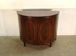 half round console table wellington hall mahogany half round console by console table brown target
