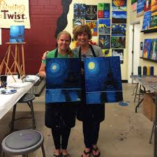photo of painting with a twist skippack pa united states eiffel tower