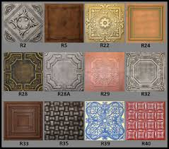 faux tin ceiling tiles ebay
