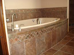 tile around bathtub modern bathroom pictures gallery ideas within 25