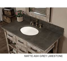 rustic gray bathroom vanities. Rustic Bathroom Vanity Carrera White Grey Top Gray Vanities