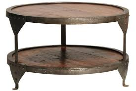 side tables round wooden side table modern coffee tables small wood and use the iron