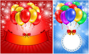 Balloon Birthday Card Design Balloons Vector Graphics Blog