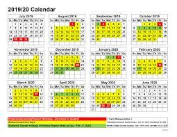 2019 20 Calendar Jackson County School System