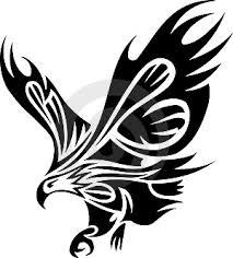 Ilustrace4470145 Kmenový Tetování Z Orel Autor Turdidae