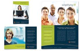 Free Leaflet Templates Business Leaflets Examples