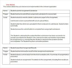 User Story Requirements Template 9 User Story Templates Pdf Excel