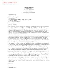 Law Internship Application Cover Letter Sample Templates At