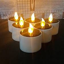 outdoor candle lighting. Perfect Lighting Amazoncom Solar Candles Lights Lemon Hour Outdoor LED Tea Lights  With Romantic Atmosphere Energy Candle Lamp For Home Party Valentine And  Intended Lighting A