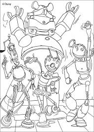 Robot Coloring Pages 35 Best Robots Kleurplaten Images On Pinterest