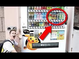 Pokemon Vending Machine Mesmerizing JAPANESE POKEMON VENDING MACHINE YouTube