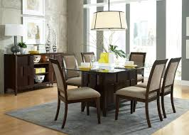 Glass Top Kitchen Table Stylish Agreeable Dining Table With Glass Top And Creative Design