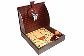 Wooden Hoop Game Amazon Wooden Basketball Table Top Game Toys Games 53