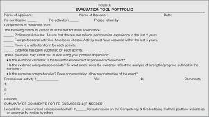 The Professional Portfolio An Evidence Based Assessment Method
