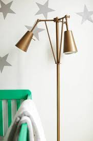 cute baby nursery floor lamps good idea for baby room idea of brass floor lamp