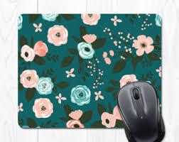 cute office decor. Mousepad Floral Mouse Pad Cute Office Decor Cubicle Desk Accessories