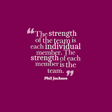 Team Quotes Picture Phil Jackson quote about team work QuotesCover 53
