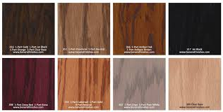 General Finishes Color Chart General Finishes Pro Floor Stain Color Swatch Chart For