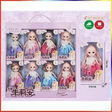 Bộ sưu tập 8 búp bê babie đồ chơi vô cùng dễ thương cho các bé gái