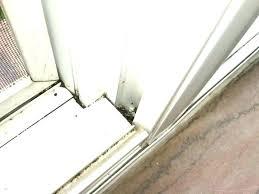 patio door track sliding glass door lubricant medium size of sliding door track easy clean windows patio door track
