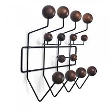 Eames Hang It All Coat Rack Eames Inspired Style Hang It All Brown Charles eames Coat racks 38