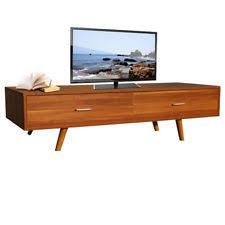 wooden tv cabinet. Teak TV Stand Retro Vintage Furniture Storage Cabinet Unit Wooden Solid Leg Room Tv