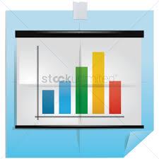 Chart Paper Presentation Presentation Chart Folded Paper Design Vector Image
