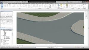 Site Designer Revit 2019 Bim Revit Site Design 03 Creating Curb L Kerb And Pavement On Contours