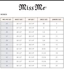 Bke Jeans Size Chart Luxury How To Tell What Size You Are In