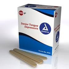 4312 tongue depressors wood non sterile senior 6 10 500 cs hires