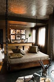 you could also use contrasting colors for your bed linen highlighting the bed as an obvious centerpiece of your bedroom