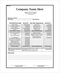 payroll sample 13 payroll templates free sample example format free