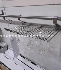 IKEA wine glass rack kitchen storage holder steel shelf rail GRUNDTAL NEW  BAR