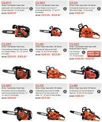 Stihl Chainsaw Models