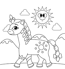 Save & print free ➤horse coloring worksheets for your child to strengthen world of imagination & creativity. 35 Free Horse Coloring Pages Printable