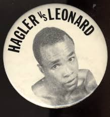 Image result for 1987 - Sugar Ray Leonard took the middleweight title from Marvin Hagler.