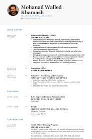 Relationship Manager \ Sme's Resume samples
