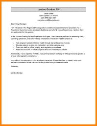 8 Nursing Resume Cover Letter Incidental Report