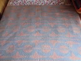 Vintage Holland Decke Deken Bettdecke Kuvertüre Schurwolle 100 Schurwolle 1960er Jahre Werfen