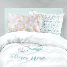 mermaid bedding set like this item little mermaid crib bedding set