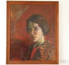 Ruth Smith, Oil Painting, Self portrait - Picture of Ruth Smith Art Museum,  Vagur - Tripadvisor
